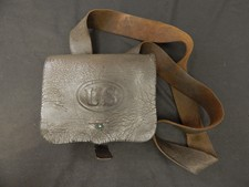 Civil War Musket Cartridge Box With Shoulder Strap