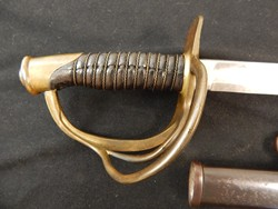 Ames 1860 Dated M-1860 Cavalry Saber W/S