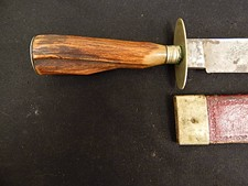 Civil War Era Bowie Knife by W&S Butcher W/S
