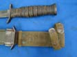 US WWII M3 Trench Fighting Knife Named