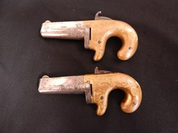 Moore's No.1 Deluxe Engraved Pair of Deringers