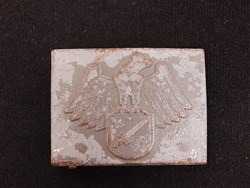 German WWII Jung Stahlelm Belt Buckle